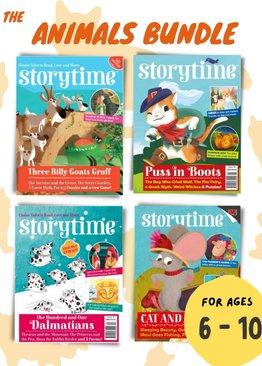 STORYTIME Animal Bundle: 4 Issues