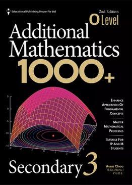 O Level Add Maths 1000+ for Sec 3 QR (2ED)