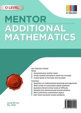 O Level Mentor Additional Mathematics (2020 Ed)