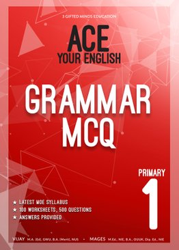 PRIMARY ONE ACE YOUR ENGLISH GRAMMAR MCQ