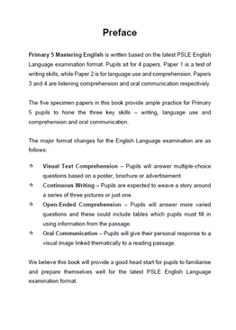 PRIMARY 5 MASTERING ENGLISH - 2ND EDITION