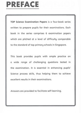 TOP Science Examination Papers 3