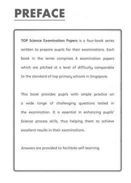 TOP Science Examination Papers 4