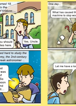 World Of Science Comics: Adventures with Great Minds