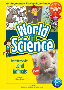 World Of Science Comics: Adventures with Land Animals