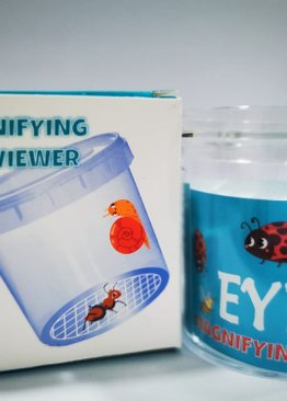 Educational Toy For Kids Magnifying Bug Jar Viewer Play and Learn Party Gift