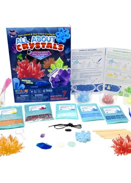 STEM Big Bang Science Experiments All About Crystals for Kids Party Gifts Teaching Resource