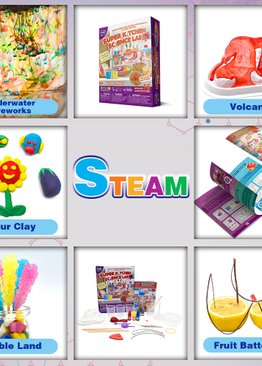STEM Big Bang Science in the Kitchen Experiments for Kids Learning Resource Teaching Aid