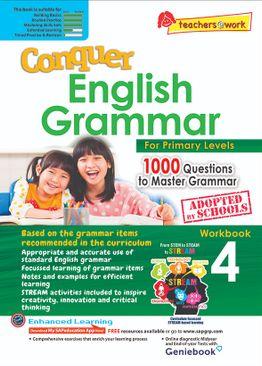 Conquer English Grammar Workbook 4