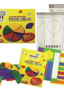 Play N Learn Smart Maths Fractions for Lower Primary Fun with Maths Skills Teaching Resource