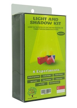 STEM Science Play N Learn 8 Experiments on Light and Shadow Educational Toy Teaching Resource
