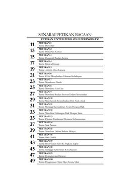 Panduan Bacaan & Lisan Untuk Persiapan Peringkat N & O