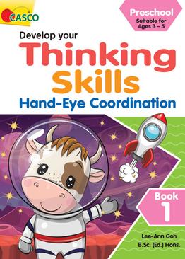 Preschool Develop Your Thinking Skills Book 1: Hand-Eye Coordination