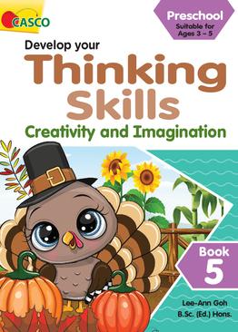 Preschool Develop Your Thinking Skills Book 5: Creativity and Imagination