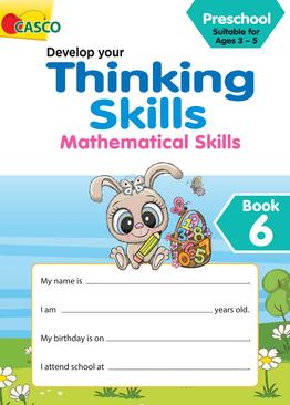 Preschool Develop Your Thinking Skills Book 6: Mathematical Skills