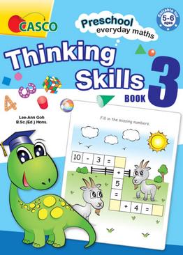 Preschool Everyday Maths Thinking Skills Book 3