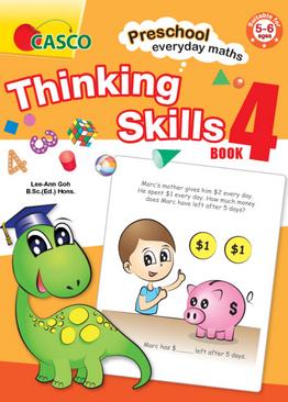 Preschool Everyday Maths Thinking Skills Book 4