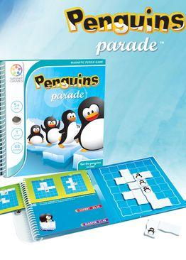 SmartGames - Magnetic: Penguins Parade